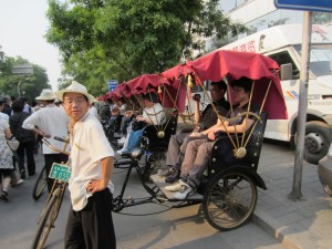 Rickshaw Ride in Hutong, Beijing